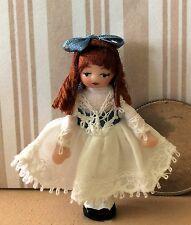 """DOLLHOUSE MINIATURE Porcelian Dollhouse Doll Ethel Hicks """"Zoe""""  NEW for 2016!"""