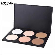 6 Colour Matte Contour Cosmetic Face Powder Eyeshadow Makeup Palette Kit