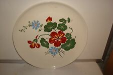 French Saxon China Union Made Flower Design Dinner Plate Made In USA