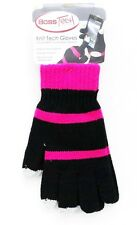 Brand New Boss Tech Knit Tech Gloves - Black/Pink