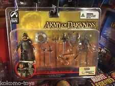 2004 Palisades Army of Darkness 2 Figure Pack MOC - Knight & Deadite Skeleton
