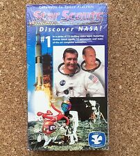 STAR SCOUTS Discover NASA #1 VHS Video Tape • 1995 Family Approved