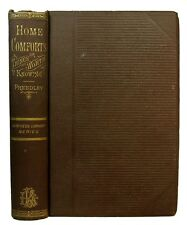 1879 ANTIQUE VICTORIAN COOKBOOK HOUSEHOLD HOME GUIDE FURNITURE DECOR FAMILY OLD