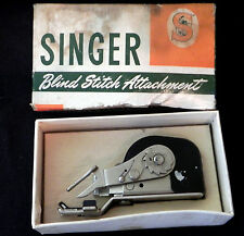 Singer Sewing Blind Stitch Attachment Model 160616 Featherweight Original Box