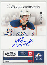 2011-12 Panini Contenders RYAN NUGENT-HOPKINS AUTO AUTOGRAPH RC Rookie /800
