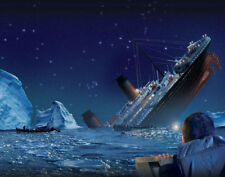 "Titanic Sinking 14 x 11"" Photo Print"