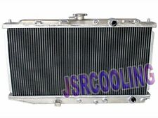 2 ROW Performance Aluminum Radiator fit for 1988-1991 Honda CR-X CRX MT New