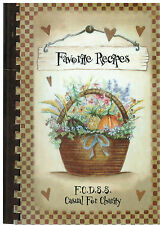 *FREDERICK COUNTY MD 2003 FAVORITE RECIPES COOK BOOK *SOCIAL SERVICES EMPLOYEES