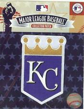Kansas City Royals Gold Crown Sleeve Patch Official MLB Jersey Logo