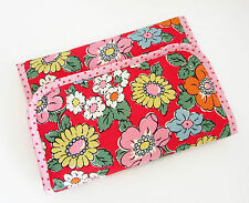 Handmade baby travel changing mat for bag -Cath Kidston Camden Red & Oilcloth