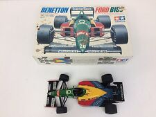 Built Benetton Ford B188 TAMIYA 1/20 Scale Model kit #20021 With Box