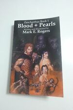 Blood + Pearls Zancharthus Book 1 by Mark Rogers SIGNED tpb Samurai Cat author