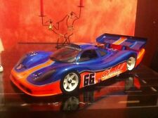 1/8 scale Porsche GTR Speed run RC Car body 295mm Mugen MRX Serpent 977 0083s