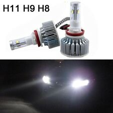 80W 6400LM 6000K Xenon White H11 Cree LED Low Beam Headlight Lights Bulbs Kit M9