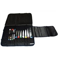 16 Compartment Knife Case Wallet Kitchen Knives Protector Chef Wipe Clean RY731