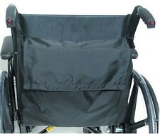 Wheelchair Back Pack Bag w/Strap Waterproof Mobility Pouch Storage Accessory