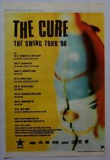 THE CURE 1996 Poster Ad THE SWING TOUR