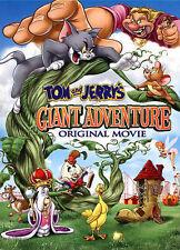 Tom and Jerry's Giant Adventure with Bonus Discs DVD
