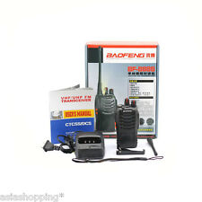 ★RICETRASMITTENTE VHF/UHF BAOFENG BF-888S TWO WAY RADIO WALKIE TALKIE 5W★