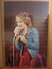 Rod Steward rock n roll orig 1978 Vintage Poster vintage 5355