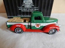 Texaco 1941 Chevy Pickup Tr - Matchbox - Platinum Collectibles Edition - 92121