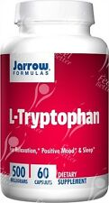 L-Tryptophan 500mg x60caps;- SEROTONIN - ANTI-DEPRESSANT