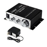 LP 2020A Tripath Class T HIFI Steoro Audio Mini Amplifier 20x2W AMP Power Supply