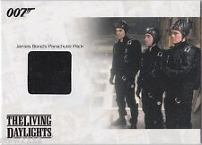 JAMES BOND MISSION LOGS JBR16 PARACHUTE PACK RELIC 457/700 THE LIVING DAYLIGHTS