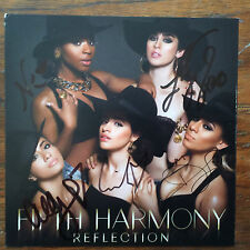Fifth Harmony Refection cd includes cd card signed by all 5 group members