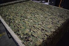 "AOR2 Woodland Digital Epsilon 1.55oz Ripstop Fabric 62"" Camo Water Repellent DWR"