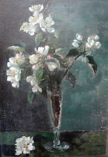 J. Radermacher. Branches in a glass, dated 1898. For restoration