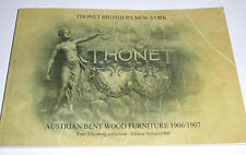 KATALOG THONET BROTHERS NEW YORK AUSTRIAN BENT WOOD FURNITURE 1906/07