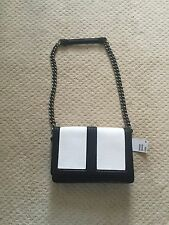 H & M Black And White Snake Skin Handbag Shoulder Purse