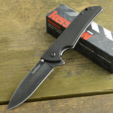 Kershaw Skyline Blackwash 14C28N Plain Edge G10 Handle Linerlock Knife 1760BW