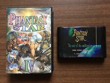 """Phantasy Star IV ""Sega Mega Drive/Genesis GAME USED"