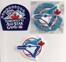 Toronto Blue Jays MLB Patch Lot of (3) Different ***Mint Condition***