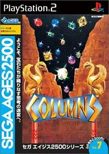 Used PS2 Sega Ages 2500 Vol. 07 Columns Japan Import (Free Shipping)