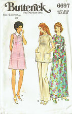 MATERNITY DRESS, TUNIC & PANTS Vintage Pattern ~ Butterick ~ Sz14 *COLLECTABLE*