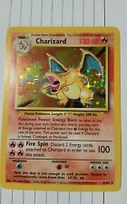Charizard base set pokemon card 4/102