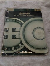 HOLLANDER WHEELCOVER BOOK INTERCHANGE MANUAL EDITION 66 2000 134 PAGES