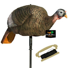 NEW LUCKY DUCK EDGE BY EXPIDITE COLLAPSIBLE HEN TURKEY MOTION TOM DECOY