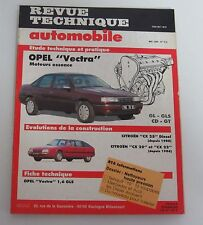 Revue technique automobile RTA 515 Opel vectra moteur essence