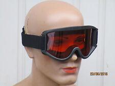 SCOTT Schutzbrille,Motorradbrille, schwarz,MX Goggles, orange Scheibe