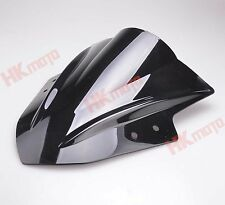 Black Windscreen Windshield Screen for Kawasaki NINJA300R EX300 2013-2014