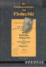 2103: Die Verleihungsurkunden zum Cholmschild, Stijn David