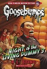 GOOSEBUMPS Night of the Living Dummy 3 (Classic#26) by R.L. Stine Paperback NEW