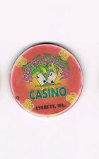 Everett, WA Washington - Silver Dollar Casino - $5 Casino Chip