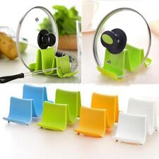 New Plastic Kitchen Pot Pan Cover Lid Shell Stand Shelf Holder Rack Cooking Tool
