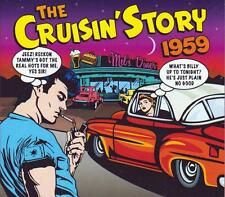 THE CRUISIN' STORY 1959 - 50 TRACKS  (NEW SEALED 2CD)
