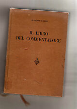 il libro del commentatore - r.falsini - e- luini  - box stock 6-
